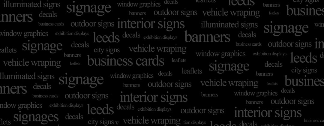 Leeds city signs your business deserves the best sign makers with you at the centre of their world reheart Gallery